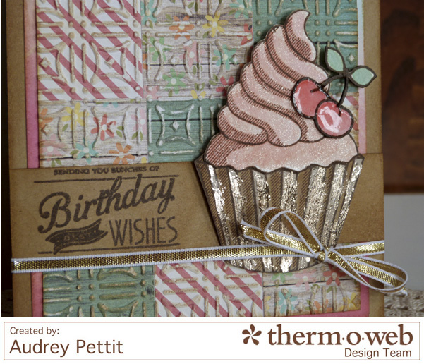 AudreyPettit Thermoweb DecoFoilBirthdayWishesCard3