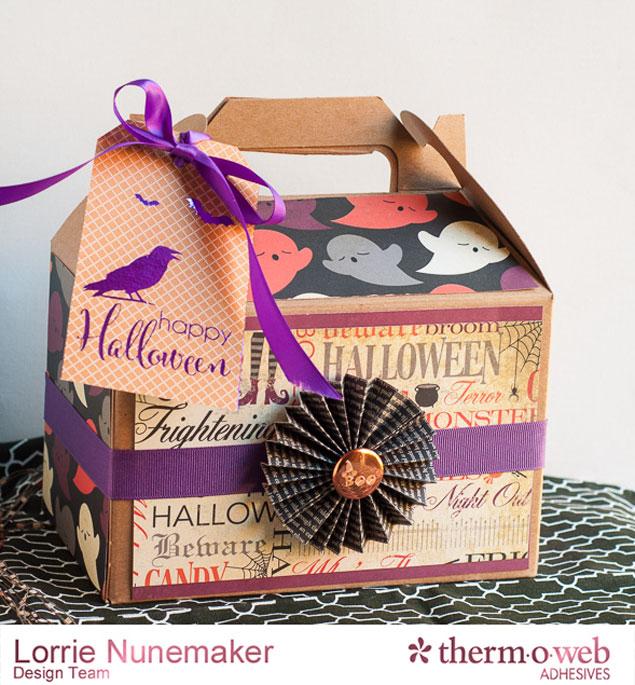 Deco Foil Halloween Treat Box