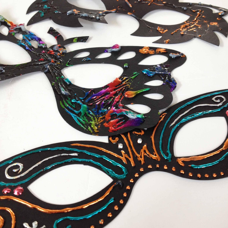 Deco Foil Halloween Masks 8