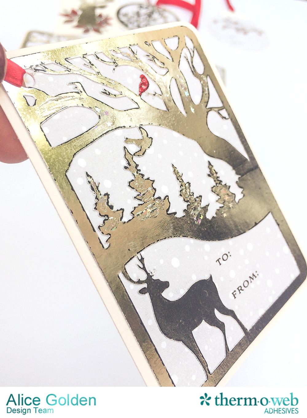 Alice Golden TOW DecoFoil Winter Tags Ad 10