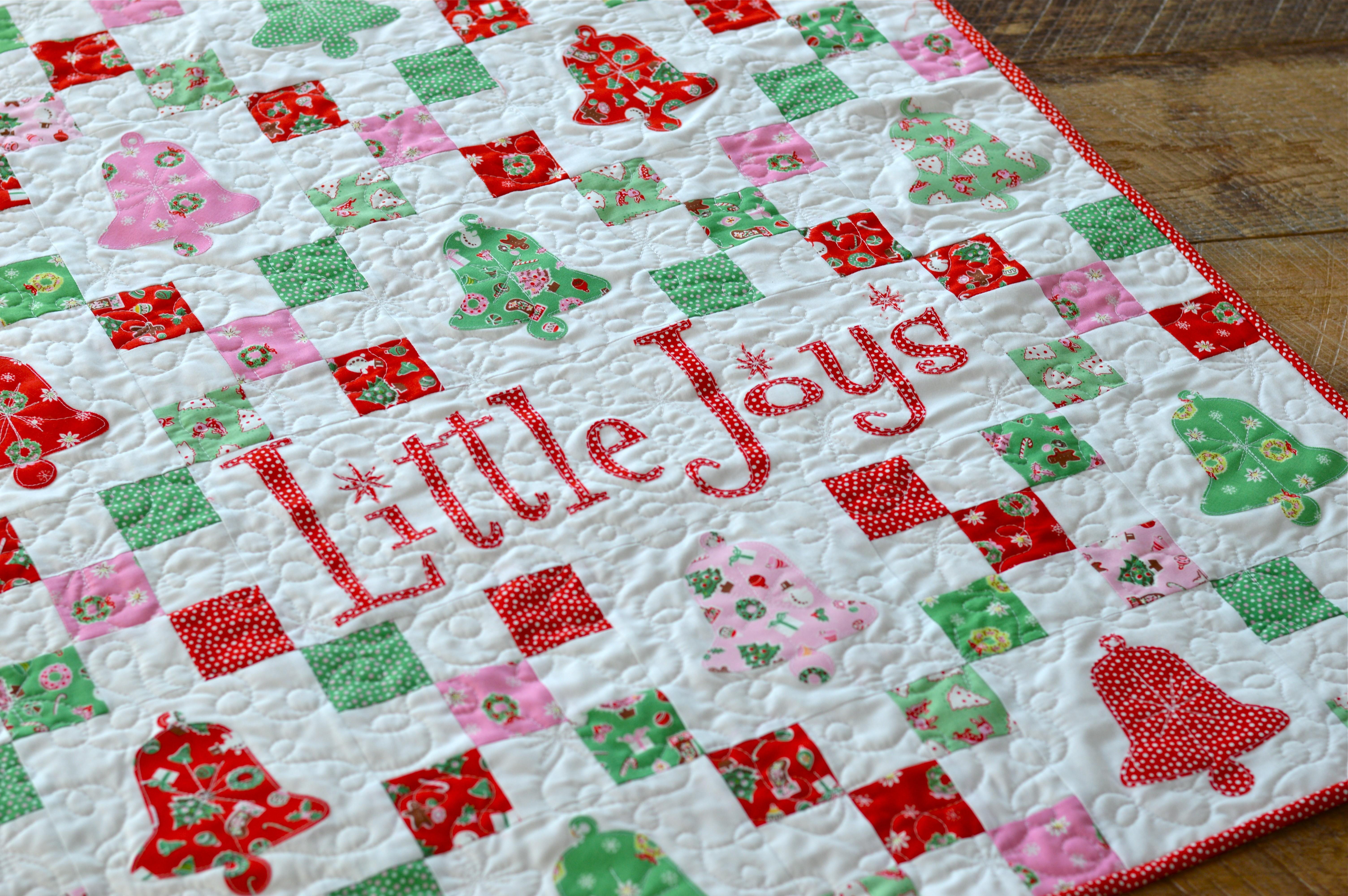 little joys quilt pattern christmas 23