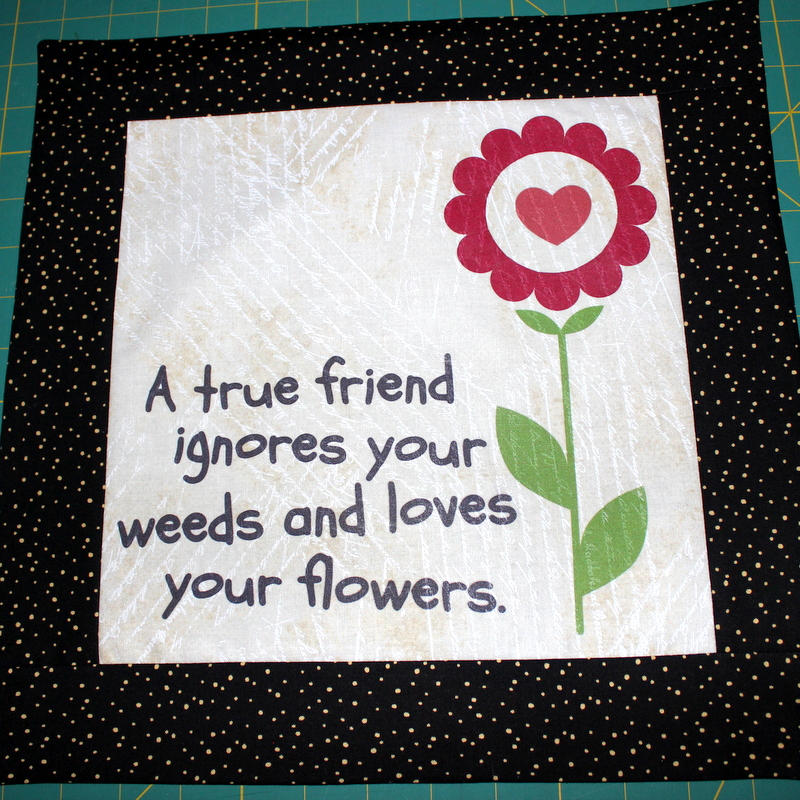 Celebrate Your Friendship With An Iron-on Transfer Pillow
