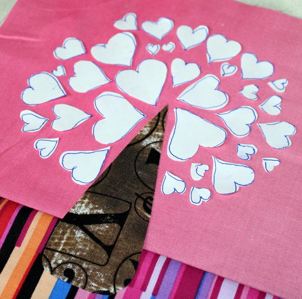 heart tree layout