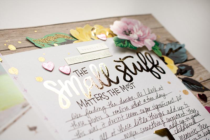Crafty Jen Schow Hand Lettering Deco Foil Video Tutorial