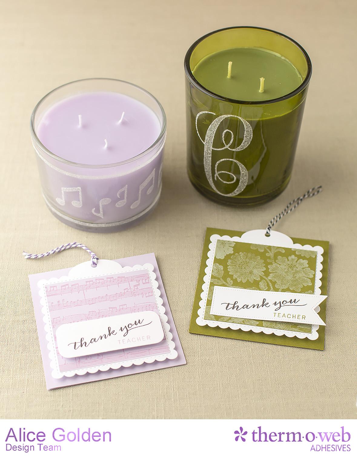 Alice Golden TOW Easy Tear DIY Custom Candles 7