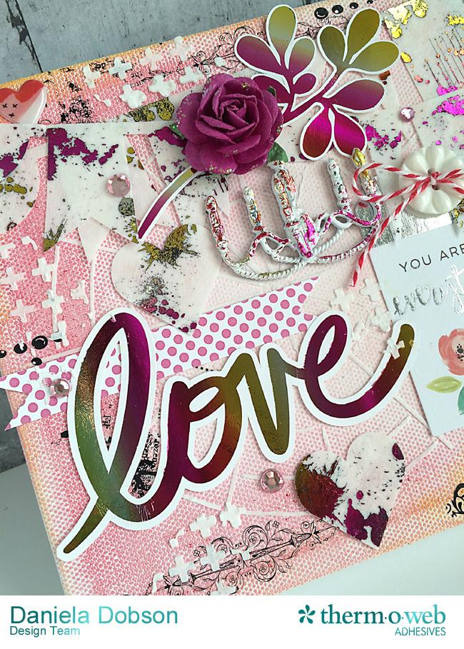 Love canvas close by Daniela Dobson