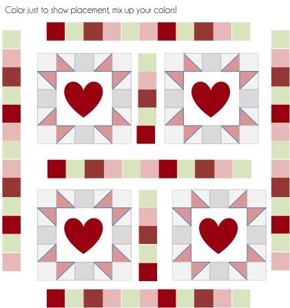 heart block sashing