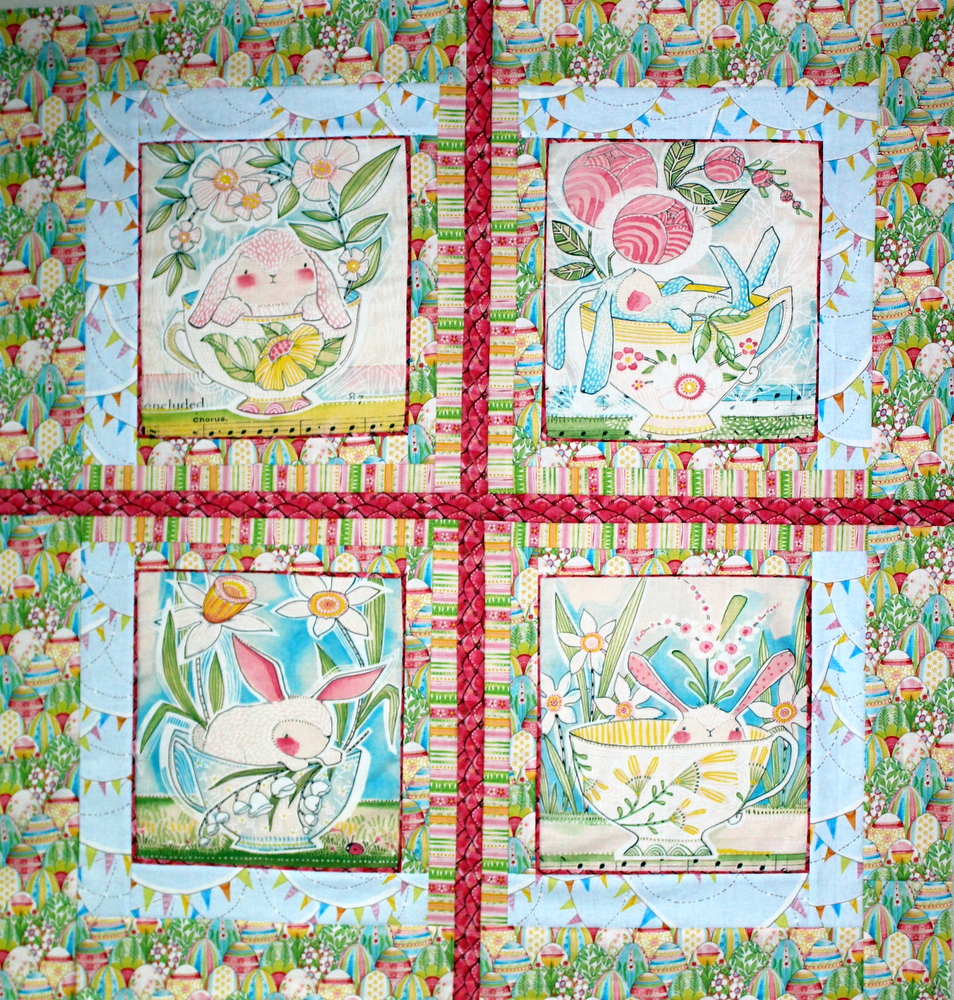 the promise of spring quilt top
