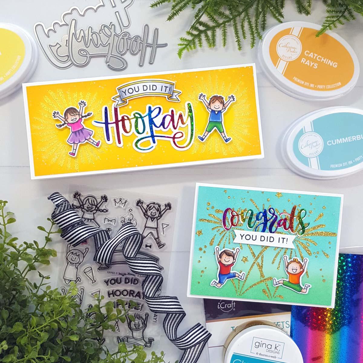 Andrea Kids Congrats Cards